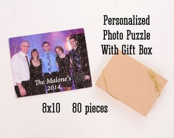 Personalized Photo Puzzle - 80 pieces - Photograph Puzzle