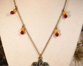 Gryffindor House Necklace