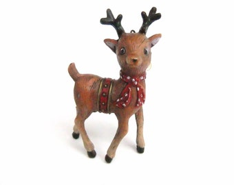 Reindeer Ornament Vintage