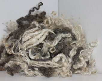 Mohair and wool Tailspun