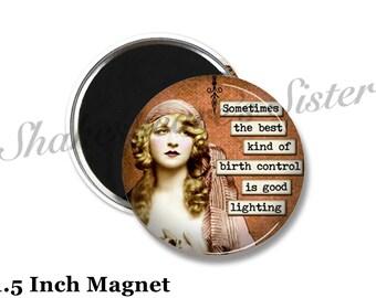Sarcastic Magnet - Fridge Magnet - Sarcasm - 1.5 Inch Magnet - Kitchen Magnet - Funny Magnet
