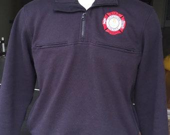 Firefighter Job Shirt 1/4 zip