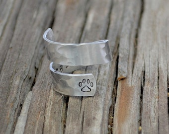 Pet Memorial Gift / Pet loss gift / Sympathy gift / Personalized pet loss ring / Pet remembrance / Personalized sympathy gift /Memorial gift
