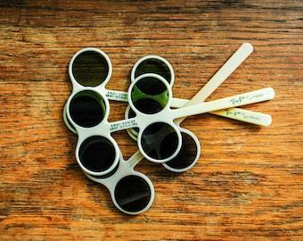 Vintage 1960s Ray Bans Optometrist's Sample Sunglass Lenses