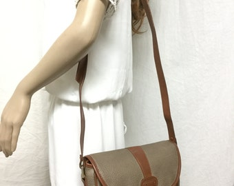 Guess, Saddle Bag ,purse,Taupe ,Faux Leather, Shoulder Bag, bags,purses