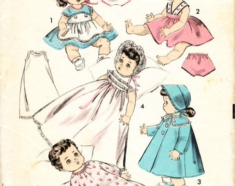 Advanced  Baby Doll 10.5 inch Clothes Sewing Pattern