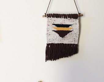 Earthy Triangle Tapestry
