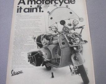 1964 Vespa Print Ad