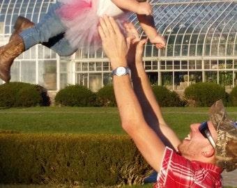 Tutu-Christmas tutu-Newborn tutu- photo prop-Baby tutu- First birthday tutu- Hospital Gift-Pink tutu-Cake smash tutu-Baby shower gift - baby