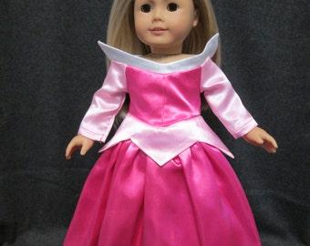 "Disney Princess Doll Clothes, American Girl Doll, 18"" Doll clothes"