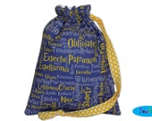 Sock Bag | Knitting Bag | Drawstring Pouch | Project Bag | Drawstring Bag