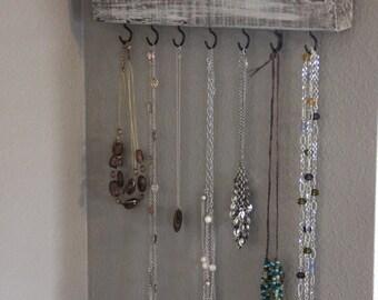 Jewelry Hanger, Jewelry Organizer, Necklace Hanger, Jewelry Storage, Jewelry Display, Necklace holder