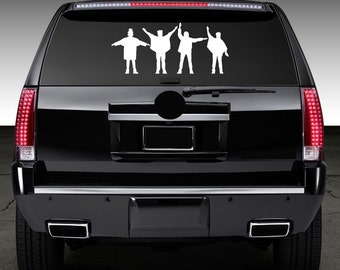 The Beatles Help Window Decal Graphic Sticker for Truck Car SUV