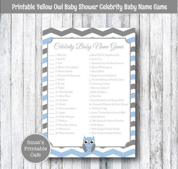 Celebrity baby name quiz 2019
