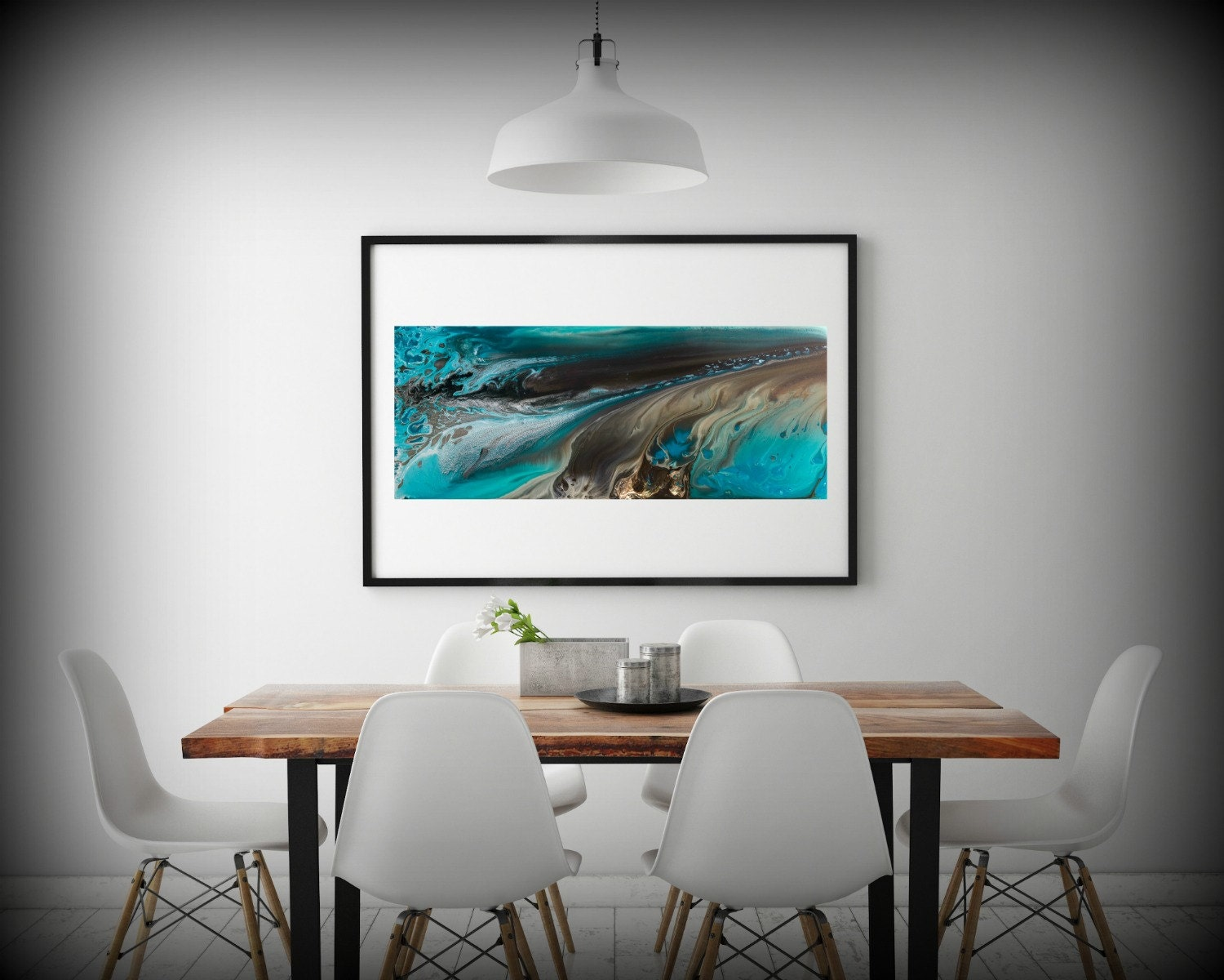 Coastal Wall Decor: GICLEE PRINTS Art Abstract Painting Coastal Home Decor