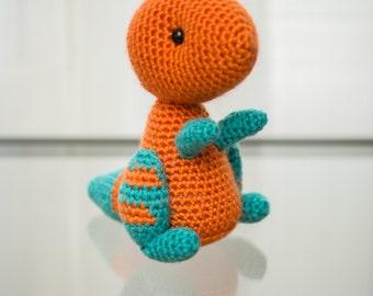 Dinosaur Crochet Pattern: T-Rex