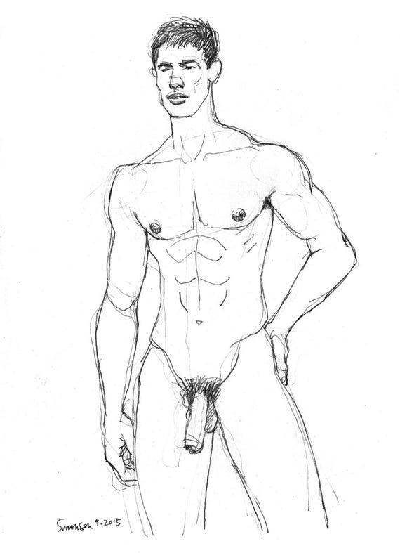 Uncut Nude Male 70