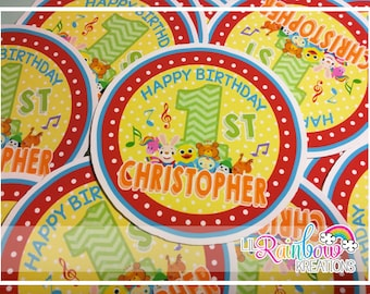 FVTAGS-846: Baby's 1st Tv Inspired Tags or Stickers