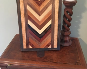 Wood Veneer Wall Art
