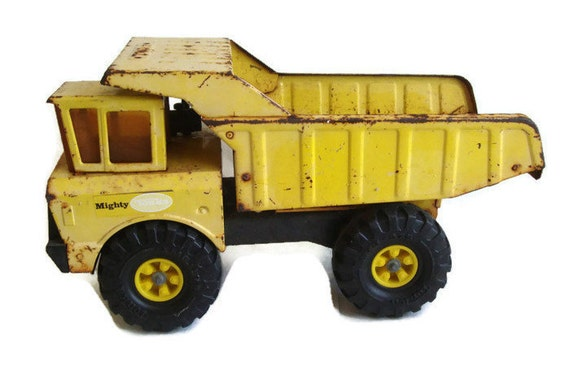 Large Construction Toys For Boys : Tonka dump truck mighty xmb vintage toy