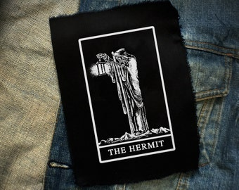 The Hermit, Tarot Patch | Patches | Punk Patches