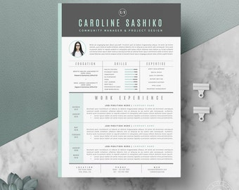 resume template cv template cover letter for word 4 page pack 66 - Resume Template With Cover Letter