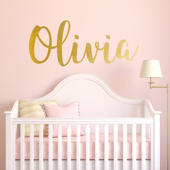 Children S Party Box Wall Art For Girl S Bedroom: Personalized Childrens Wall Decal Girls Name Wall Decal