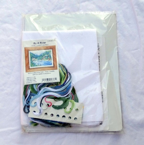 Design works by a river counted cross stitch kit free