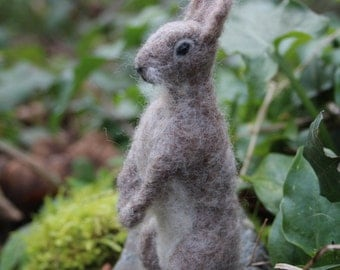 The Hoppit - Rabbit needle felting kit