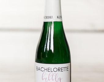 Bachelorette Bubbly Mini Champagne Party Favors
