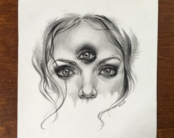 Third eye drawing
