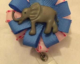 Elephant ID Badge Reel