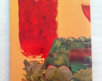 Vintage Cookbook Joys of Jello Gelatin Dessert