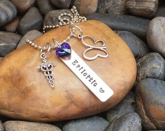 Epileptic Necklace | Epilepsy Necklace | Epilepsy Jewelry | Epileptic Jewelry | Gift For Epileptic | Medical Alert Jewelry