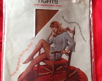 Vintage 1960s/1970s Kayser Comfort Tights, nylons.