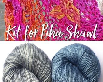 Kit for Piha Shawl