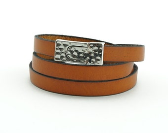 Leather- Brown