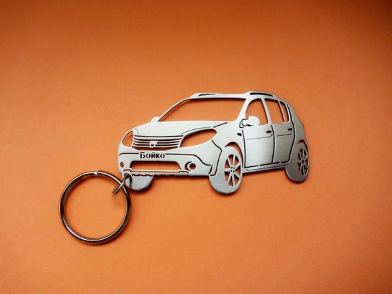 dacia sandero stepway keychain personalized by guestfromthepast. Black Bedroom Furniture Sets. Home Design Ideas