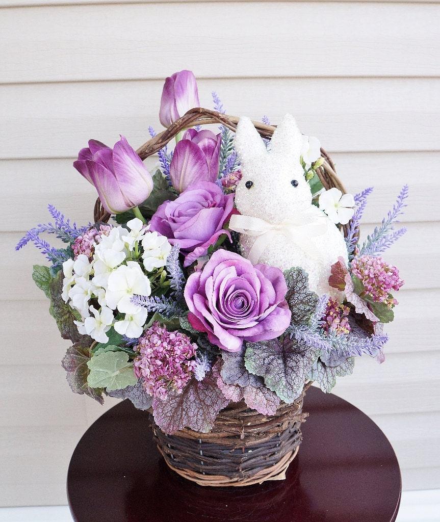 Easter arrangement spring floral