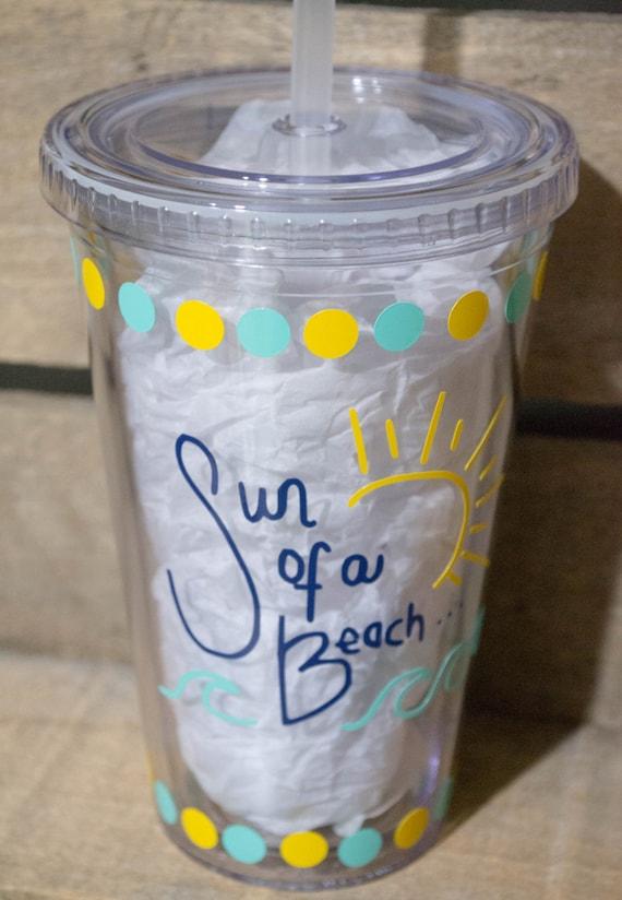 Sun of a Beach Tumbler