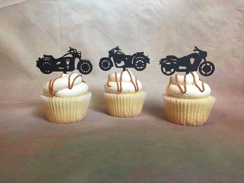 Harley Davidson Cake Decorations Bicycle Cake Topper Etsy