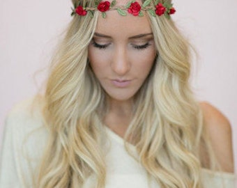 Bohemian Flower Headband