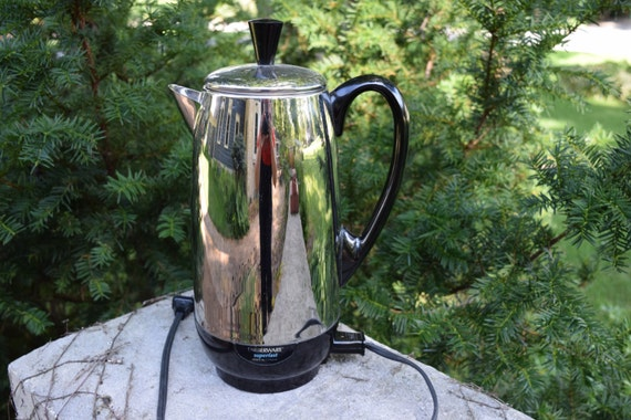 Farberware 12 Cup Percolator Coffee Pot Superfast 412A Made