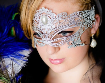 Dance costume Mask in Lace Mask Mardi Gras Mask Masquerade Mask Ball Mask