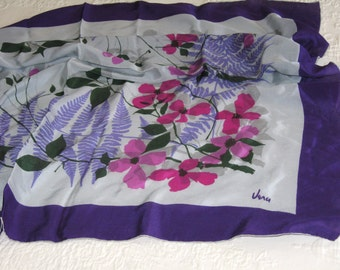 Vera scarf-purple and pink colors