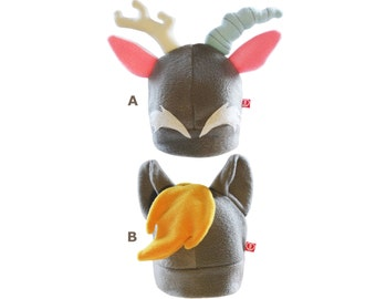 Mlpfim pony fleece hat inspired by Derpy and Discord, for brony and cosplay