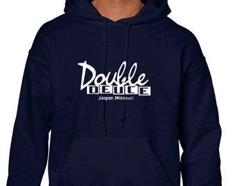 Double Deuce Hoodie Sweatshirt from the Movie Road House