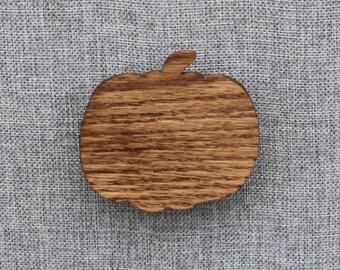 Handmade Wooden Pumpkin Magnet