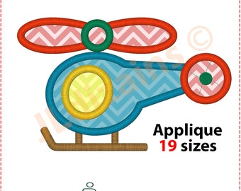 Helicopter Applique Design. Helicopter embroidery design. Embroidery designs helicopter. Applique helicopter. Machine embroidery design