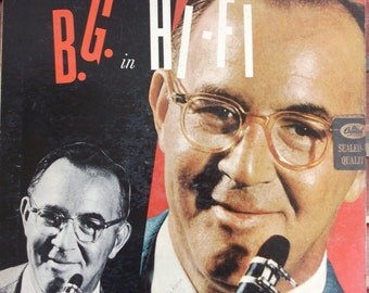 Benny Goodman, B.G. in Hi-Fi, Vintage Record Album, Vinyl LP, Big Band Era Music, Swing Music, Orchestra, Instrumental Dance Music